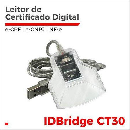 Leitor de Carteira OAB Homologado para Certificado Digital e-CPF, e-CNPJ