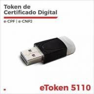 Token Safenet 5110 para Certificado Digital OAB - Homologado (cor branco)