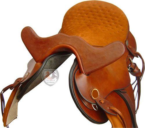 Sela Mangalarga com cabeça couro bufalo Brasil