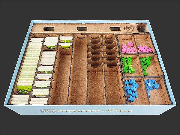Organizador (insert) para Carcassonne Plus