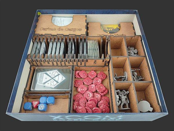 Organizador (insert) para XCOM: The Board Game