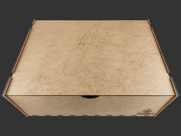 Caixa Organizadora Big Box para Zombicide: Clássico