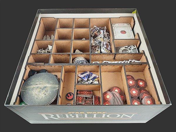 Organizador (insert) para Star Wars: Rebellion (Modelo 2)