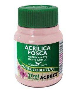 Tinta Acrílica Fosca Acrilex 37ml - Rosa Bebê 813