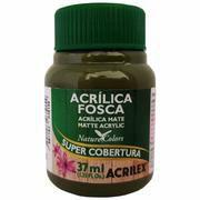 Tinta Acrílica Fosca Acrilex 37ml - Verde Oliva 545