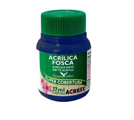 Tinta Acrílica Fosca Acrilex 37ml - Azul Marinho 544