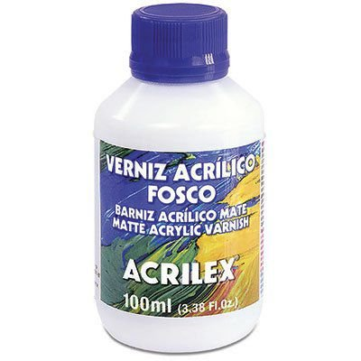 Verniz Acrílico Fosco Acrilex 100ml