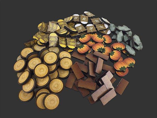 Kit de recursos especiais para Agrícola (138 peças)