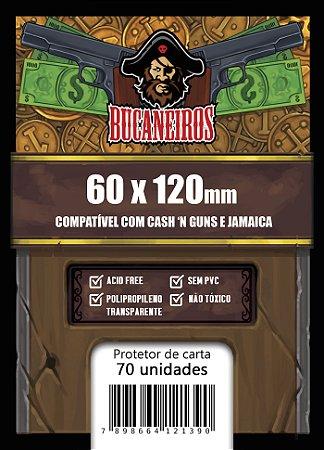 Sleeves Customizado - Cash'n Guns (60x120)