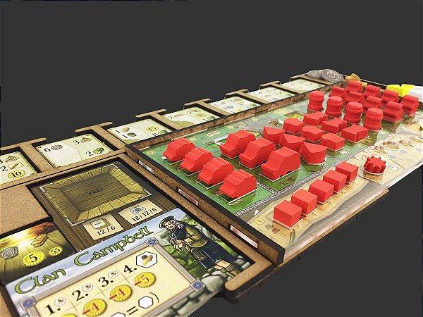 Kit Dashboard para Clans of Caledonia (4 unidades)