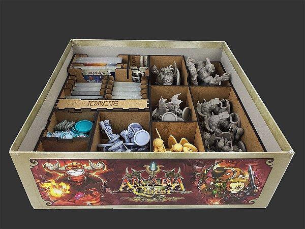 Organizador (Insert) para Arcadia Quest Inferno