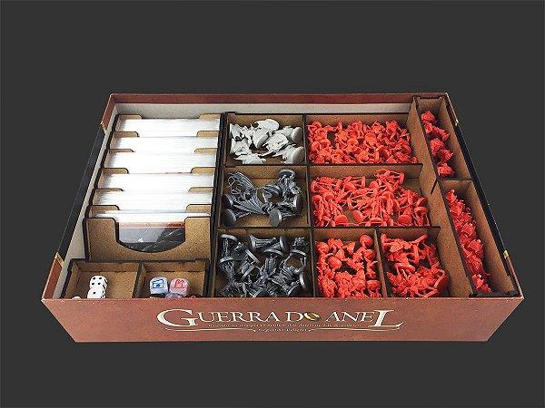 Organizador (Insert) para Guerra do Anel