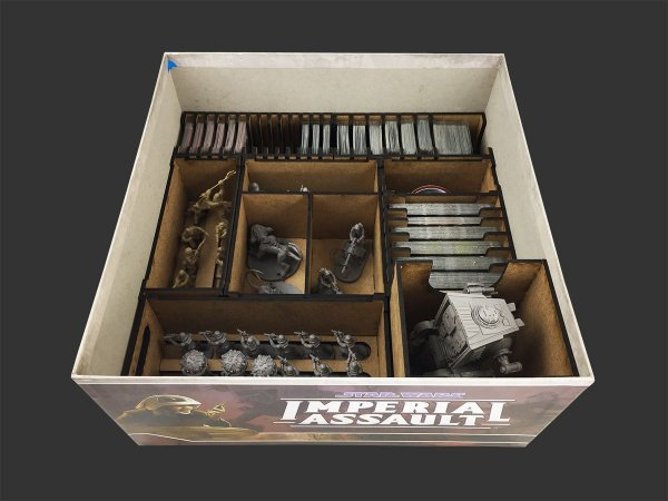 Organizador (Insert) para Star Wars Imperial Assault
