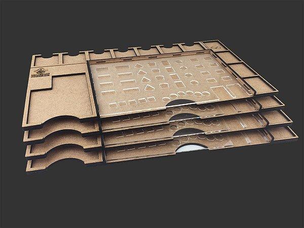 Kit Dashboard para Clans of Caledonia - SEM CASE (4 unidades) (2ª tiragem)