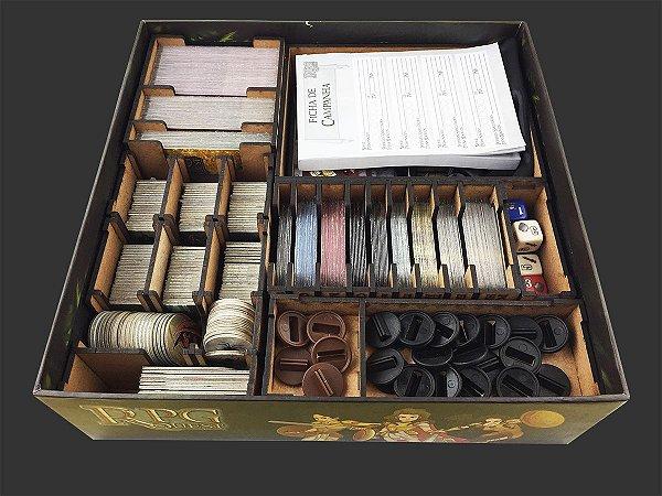 Organizador (Insert) para RPG Quest Dungeon