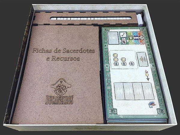 Organizador (insert) Para Teotihuacan (2ed) - Jogo Base + expansão