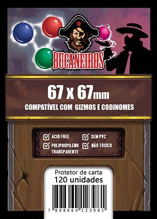 Sleeve Quadrado Customizado - 67x67 (Gizmos e Codinomes)