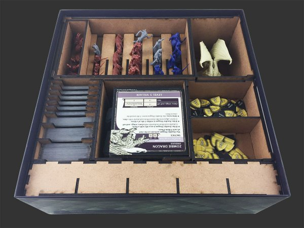 Organizador (Insert) para Dungeons & Dragons: Castle Ravenloft - Board Game