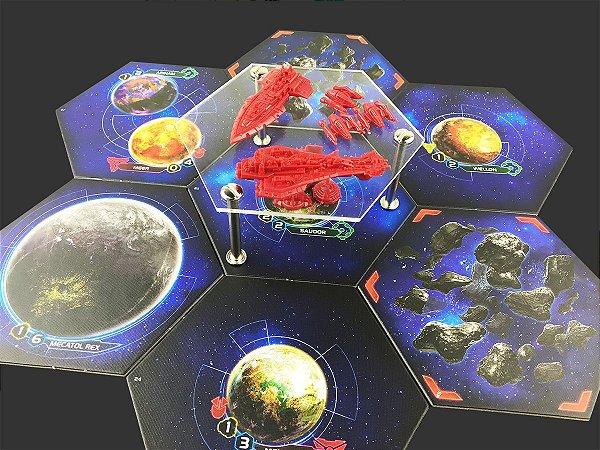Kit de Bases de Acrílico para Twilight Imperium (4 unidades)