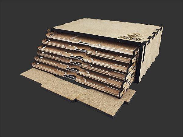 Kit Dashboard para Zombicide PREMIUM (6 Unidades) - COM CASE