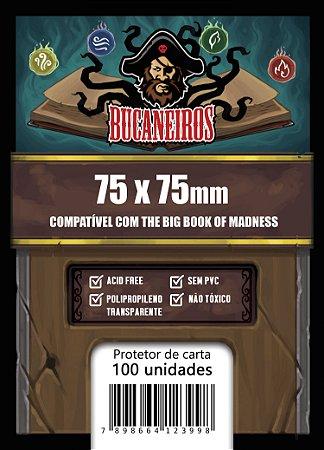 Sleeve Quadrado Customizado Big Book of Madness (75x75)