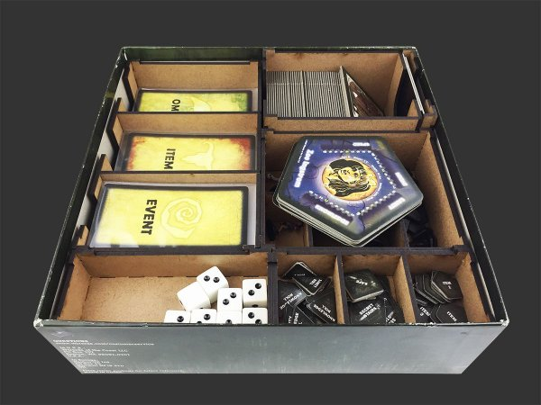 Organizador (Insert) para Betrayal at House on the Hill