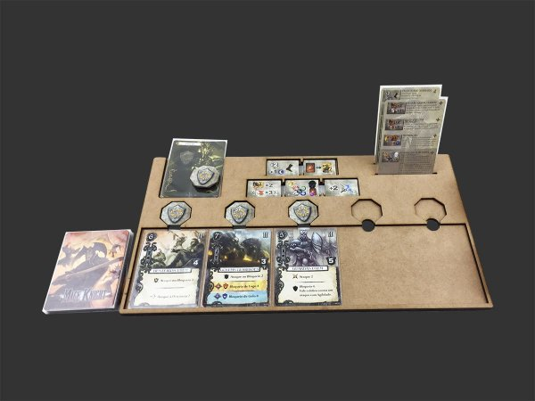 Kit Dashboard para Mage Knight (5 unidades) - SEM CASE