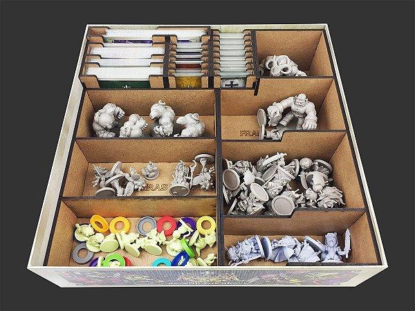 Organizador (insert) para Arcadia Quest Beyond the Grave e Pets