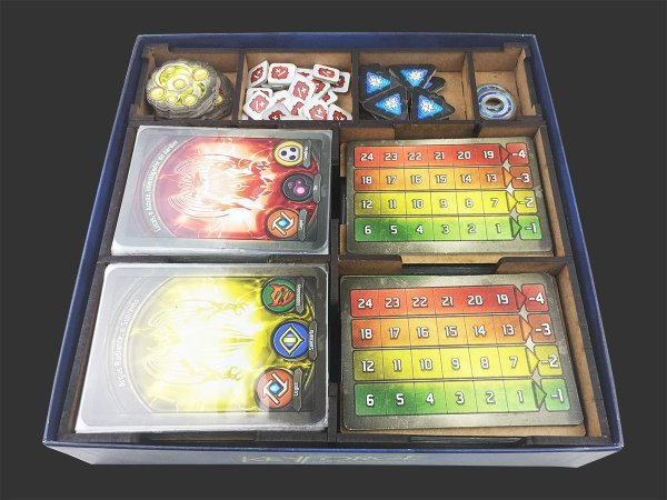Organizador (insert) para Keyforge - Era da Ascensão (Azul)