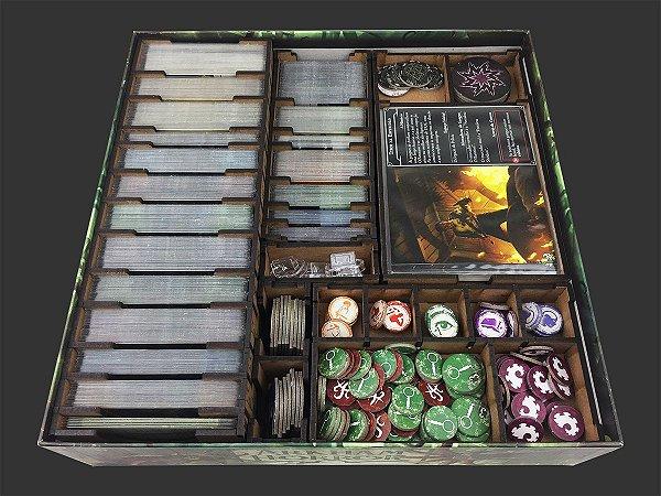 Organizador (insert) para Arkham Horror (2ed)