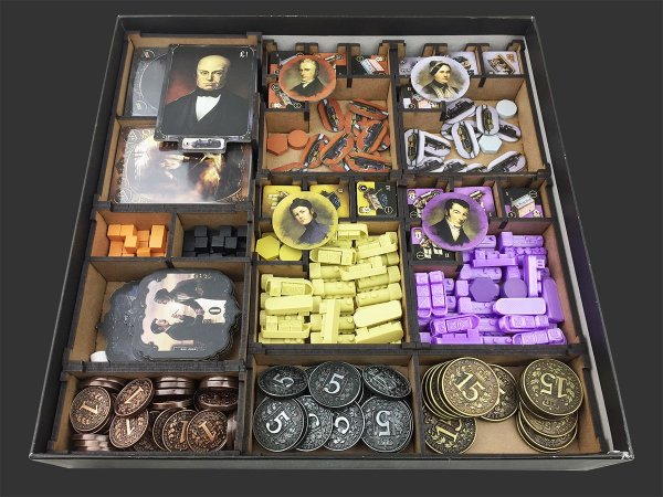 Organizador (insert) para Brass: Lancashire