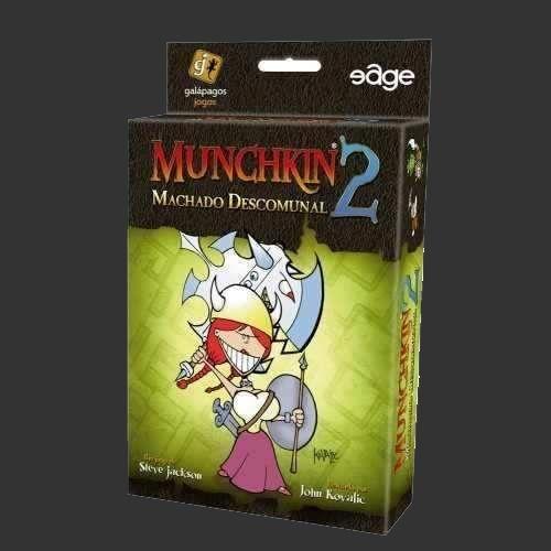 Munchkin 2 (Expansão) - Machado Descomunal
