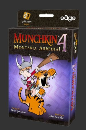 Munchkin 4 (Expansão) - Montaria Arredia