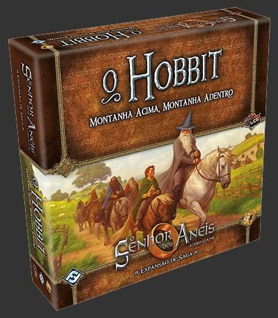 O Senhor dos Anéis - O Hobbit Montanha acima, montanha adentro