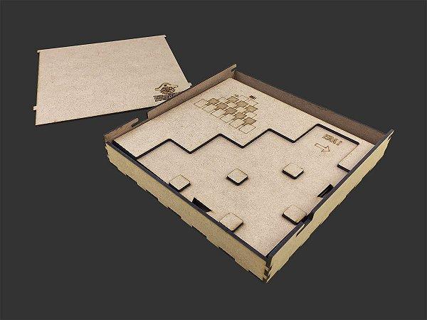 Playmat em MDF para 7 Wonders Duel - COM CASE