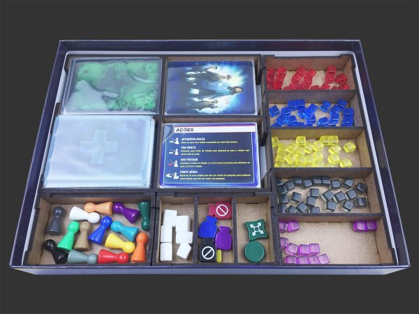 Organizador (insert) para Pandemic
