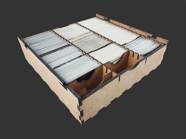 Caixa organizadora para Card Games (Genérico) - Modelo Horizontal