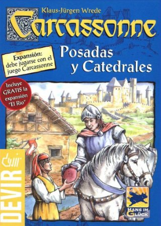 Carcassonne - Expansão 1 (Estalagens e Catedrais)