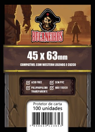 Sleeve FIT Customizado para Western Legends / Cuzco (45x63)