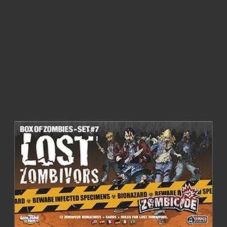 Lost Zombivors - Expansão Zombicide - Mega Liquidação