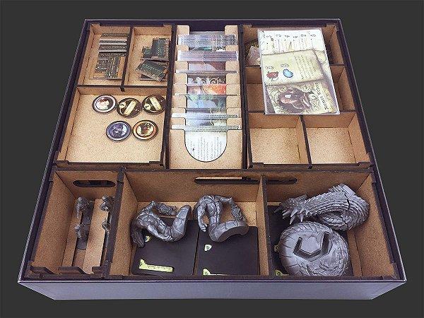 Organizador (Insert) para Mansions of Madness - Caminho da Serpente