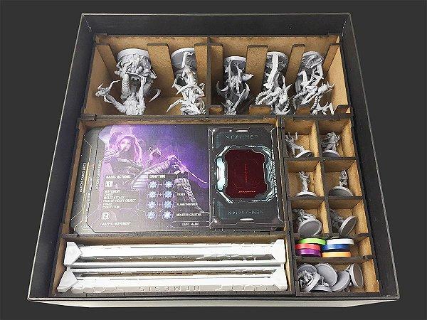 Organizador (insert) para Nemesis KS - Jogo Base (Versão Internacional)