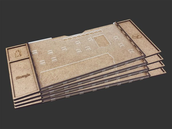 Kit Dashboard (painel) para Maracaibo (4 Unidades) - SEM CASE