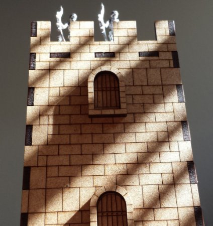 Cenário para RPG - Torre da Guarda em miniatura (escala 32mm)