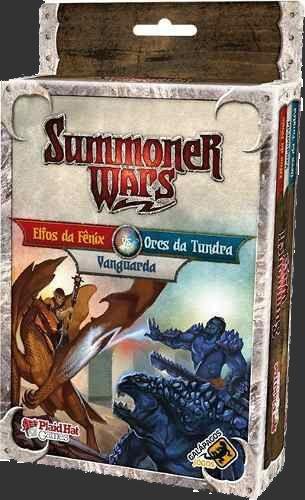 Summoner Wars - Elfos da Fênix Vs Orcs da Tundra Vs Vanguarda