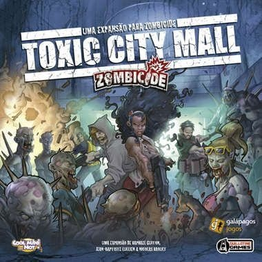 Expansão Zombicide : TOXIC CITY MALL