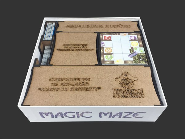 Organizador (Insert) para Magic Maze