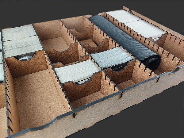 """Caixa organizadora """"Big Box"""" para Card Games (Genérico) - Modelo Horizontal"""
