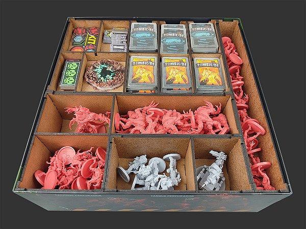 Organizador (Insert) para Zombicide Dark Side
