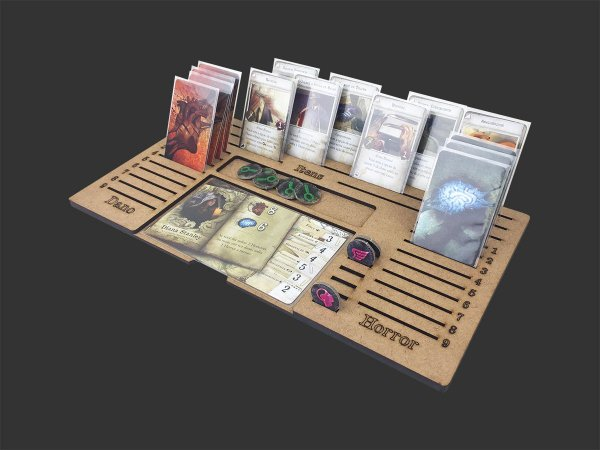 Dashboard Unitário para Mansions of Madness